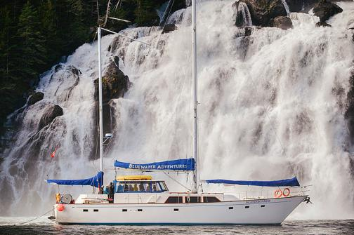 Enjoy your Alaska cruise aboard this small vessel