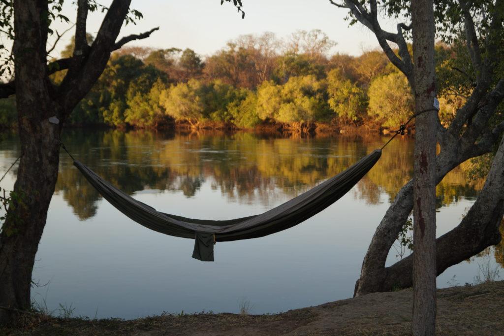 hammock by river